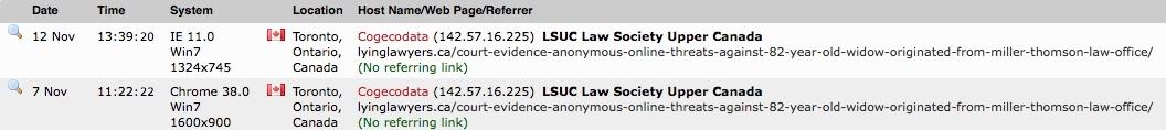 LSUC Law Society Upper Canada-private
