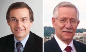 Fasken Martineau lawyer Gerald Ranking (left) illegally hired OPP Sergeant Jim Van Allen to perform an illegal investigation to benefit Ranking's clients. Section 120 (1)(a)(i) & (ii) of the Criminal Code calls that 'Bribery of a Peace Officer'