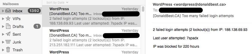 WordPress Attacks-private